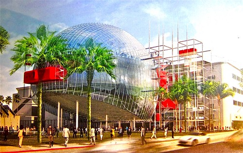 artist renderingof new Academy museum