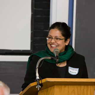 Preeta Banerjee, former Brandeis IBS faculty member