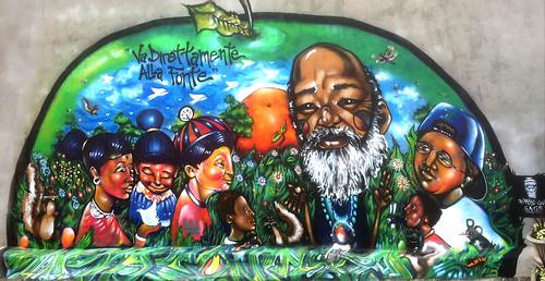 Crisis Ministries Mural by eL hue V
