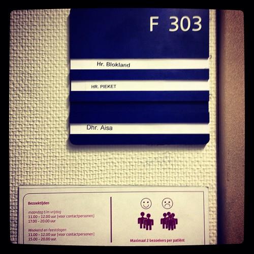 Ziekenhuiskamer #vader by edufloortje