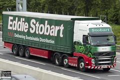 Volvo FH 6x2 Tractor - PX60 CPO - Kiah Lian - Eddie Stobart - M1 J10 Luton - Steven Gray - IMG_0233