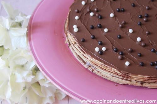 Tarta de obleas y nutella www.cocinandoentreolivos (6)