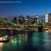 Brooklyn Bridge and Manhattan Night (P1650058) by Michael.Lee.Pics.NYC