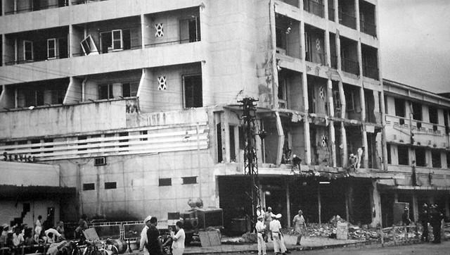 Metropole Hotel bombing. Dec 04, 1965