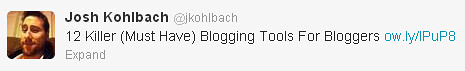 Getting blog posts shared by high profile people can boost your web traffic