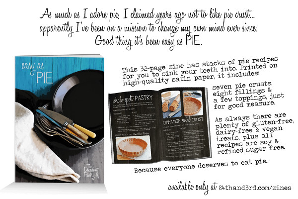 Easy as Pie recipe zine