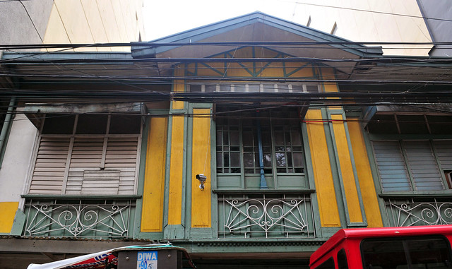 classic filipino house in green and yellow 3 | Flickr - Photo Sharing!