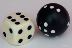 ...Square vs. round...