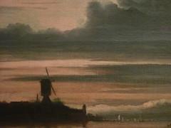 BACKHUYSEN Ludolf - Vue du Bastion Het Blauwhoofd, Amsterdam - Detail 2