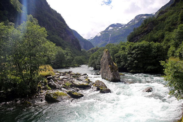 The Flam Valley near Dalsbotn