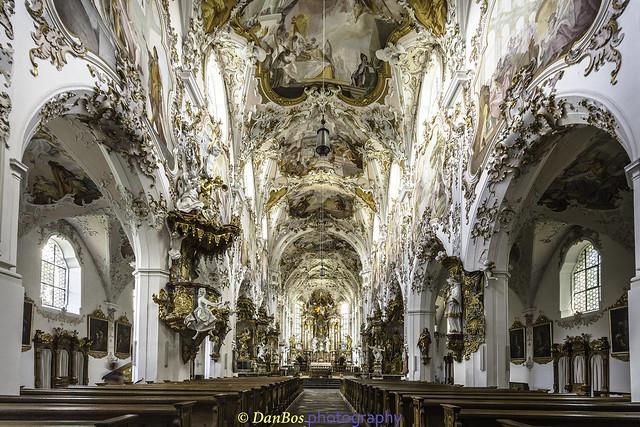 Mariä Geburt kirche - Rottenbuch - Bayern