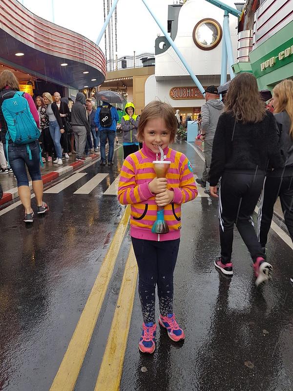 Slush i regn tycks ha blivit vår nöjesparkstradition 2016...