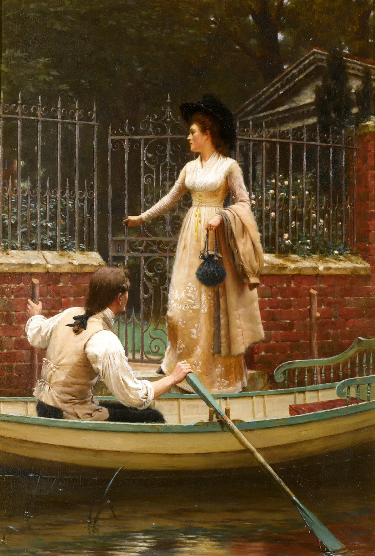 The Elopement by Edmund Blair Leighton