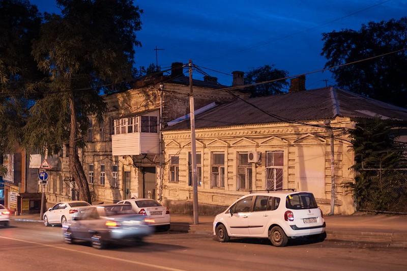 Night in Rostov-on-Don