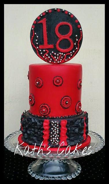 Birthday Cake by Kath's Cakes