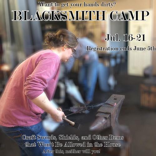 blacksmith camp base