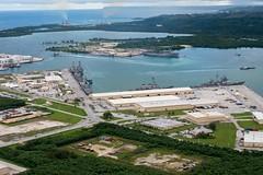 160926-N-NT265-108 APRA HARBOR, Guam (Sept. 26, 2016) Ships from Carrier Strike Group Five including, USS Barry (DDG 52), USS Benfold (DDG 65), USS Chancellorsville (CG 62), USS Curtis Wilbur (DDG 54), USS McCampbell (DDG 85) as wells as USS Stethem (DDG