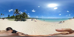 Ala Moana Beach - a 360 degree Equirectangular VR