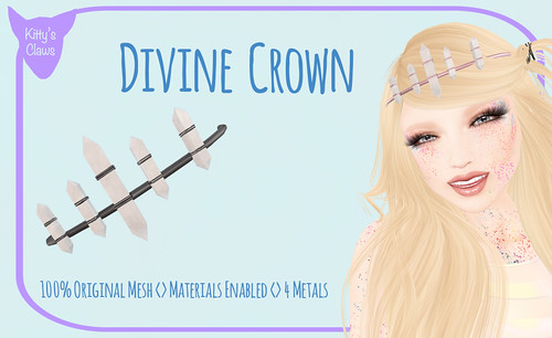 Kitty's Claws: Divine Crown NOW IN THE MAINSTORE AND MARKETPLACE