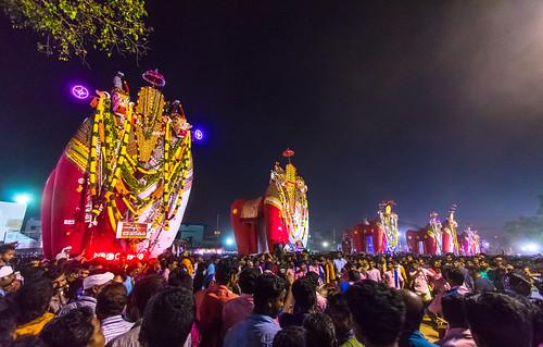 2016 28thdayonam bull festival hindu india irupathettamonam kalakettu kerala kettukaalakal october pairofbulls parabrahmatemple oachira
