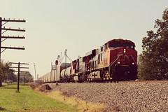 CN 2328 at Irvington, Illinois