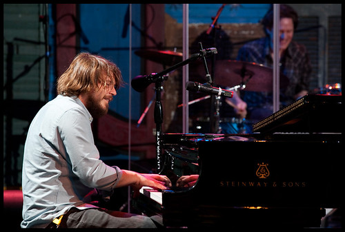 Marco Benevento  at WWOZ's Piano Night.  Photo by Ryan Hodgson-Rigsbee www.rhrphoto.com