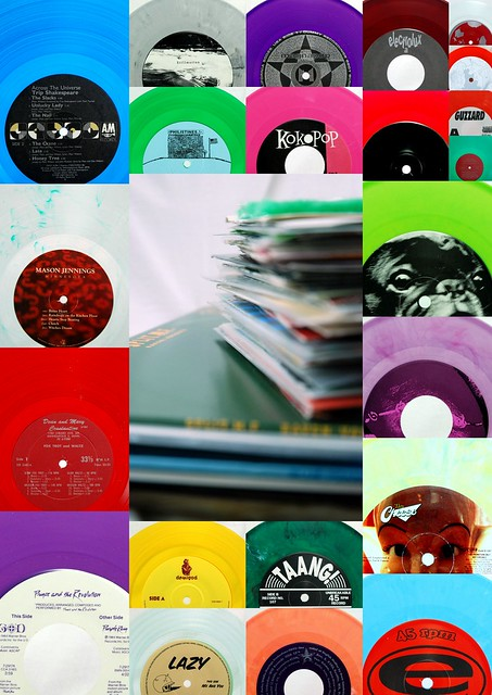 Colored Vinyl: A Collection