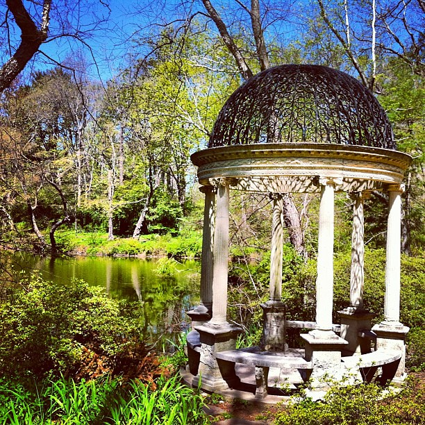 Old Westbury Gardens Ny: Temple Of Love At Old Westbury Gardens #worldplaces