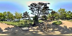 Panorama of Bentenjima of the washing ponds DSC_2998