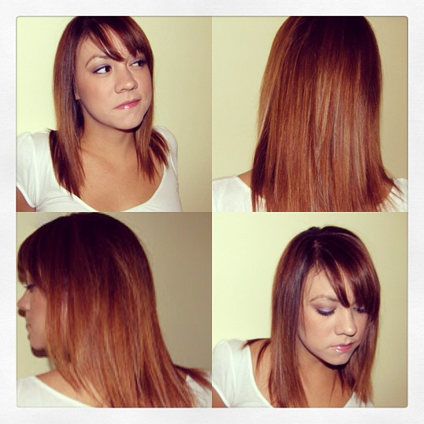 #tbt circa 2008 to my ahhmazing color melt/ombré hair c/o @zaxattack! #hair #reminiscing #brunette #trendsetter #aheadofthecurve