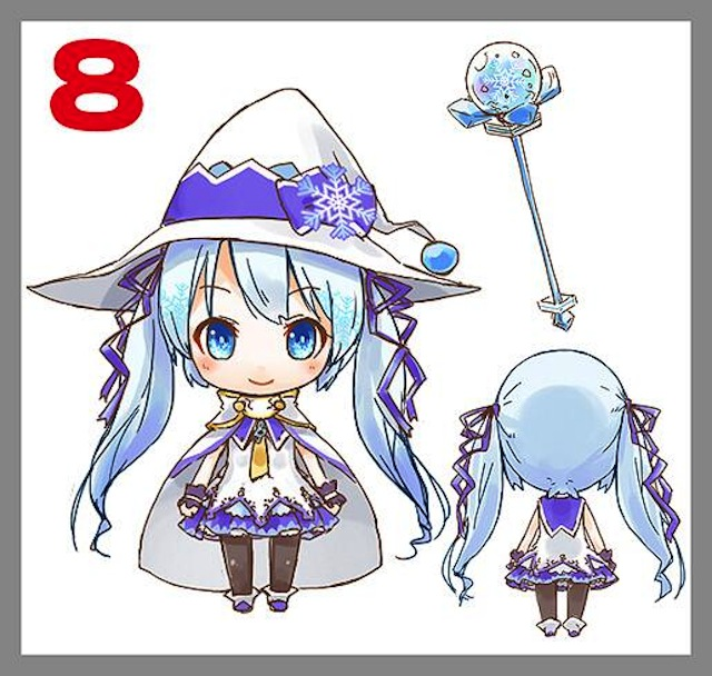 Nendoroid Snow Miku: 2014 version