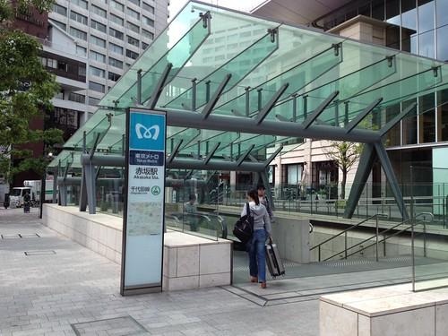 千代田線赤坂駅