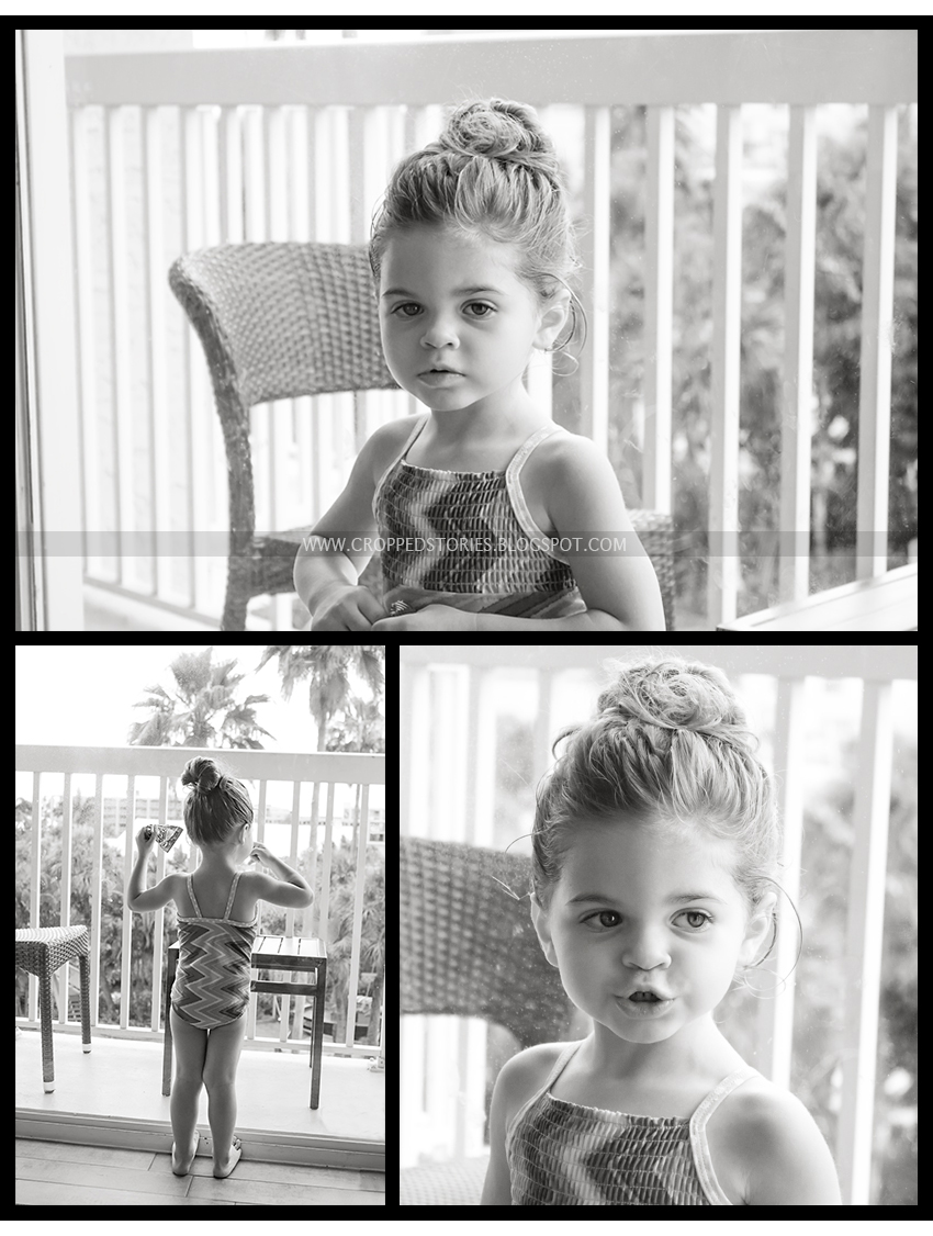 black & white child photography