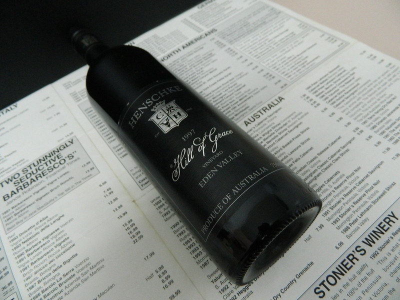 Henschke 'Hill Of Grace' Shiraz 1997 (Eden Valley)