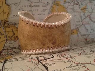 Vintage Baseball Cuff
