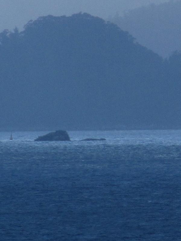 A rock, an island