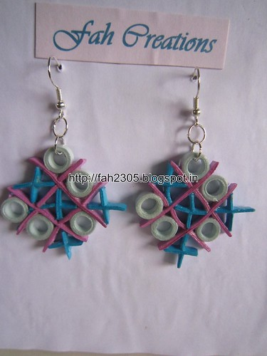 Handmade Jewelry - Paper Quilling Earrings (13) by fah2305