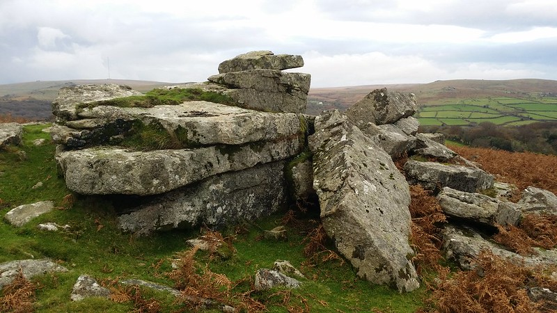Sampford Tor #dartmoor #sh