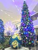 The huge Christmas Tree at SM Aura