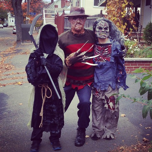 Salem Halloween 2014 Freddy & Kids
