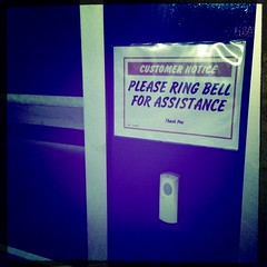 Please ring the bell