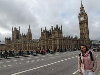 Lisiane Pires, Londres