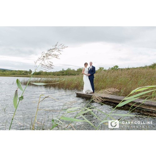 Congratulations to Lorraine & Gearóid whom were married in #rath church #corofin #clare with reception in @hotelwoodstockennis #wedding #instawedding #ballycullinan lake #weddingdress #bride #groom #love #jetty #water #reeds #weddingdress #weddingideas