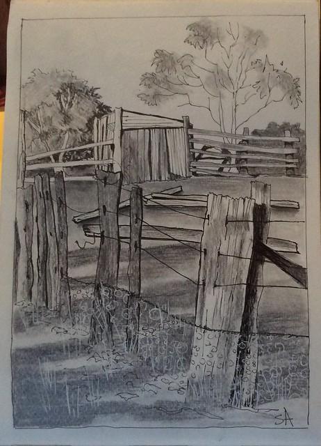 Old Cattle Yard....Jindabyne, Apple iPad mini 3, iPad mini 3 back camera 3.3mm f/2.4