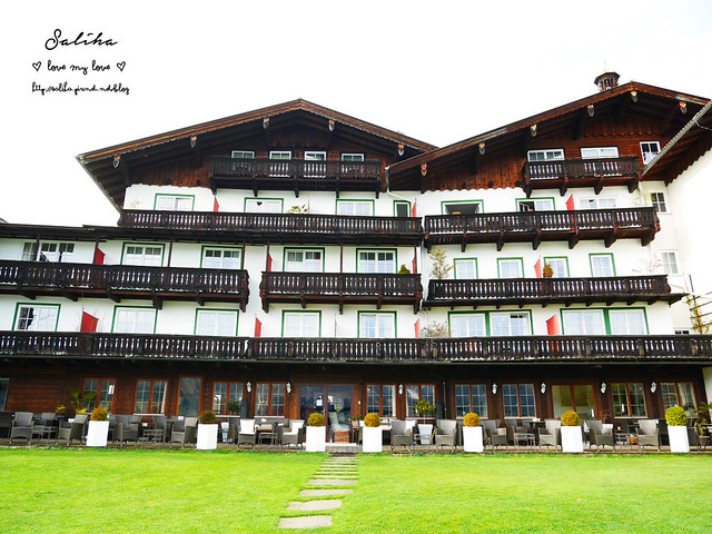 奧地利住宿Hotel Seevilla Wolfgangsee (19)