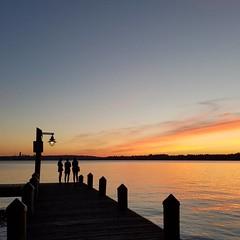#sunset #nofilter #lakewashington #seattle #kirkland #dock