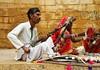 Música y comercio en Jaisalmer India