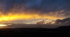 Coucher de soleil #rouen #igersrouen #sun #sunset #nofilter