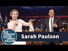 "Sarah Paulson Raps Salt-N-Pepa's ""Shoop"""