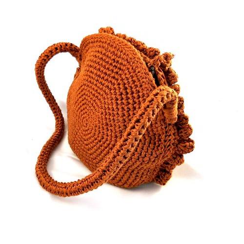 Bolso crochet Otoño en la Toscana